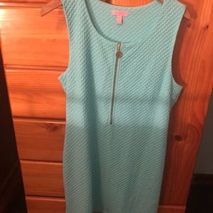 Lilly Pulitzer Lynd dress in Poolside blue, XL